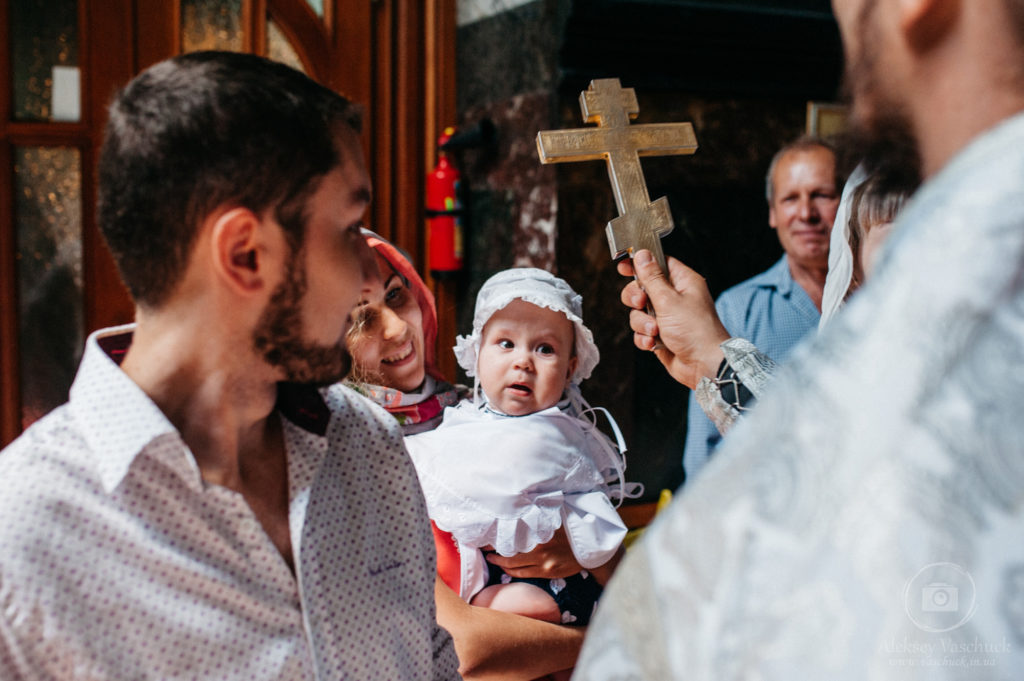 Съемка крещения во Владимирском соборе