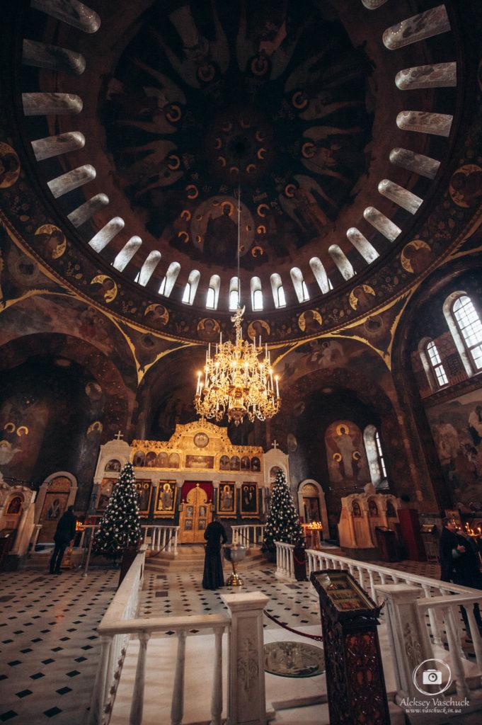 Крестины в Трапезной церкви Киево-Печерской лавры