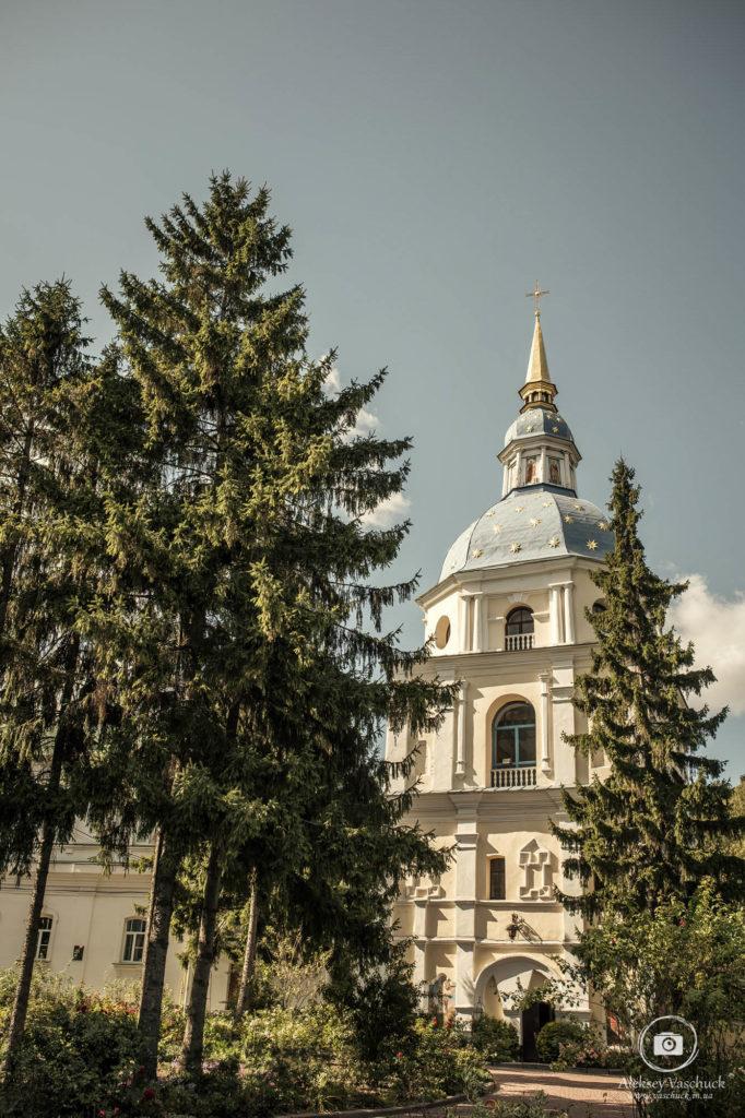 Крестины в Выдубицком монастыре