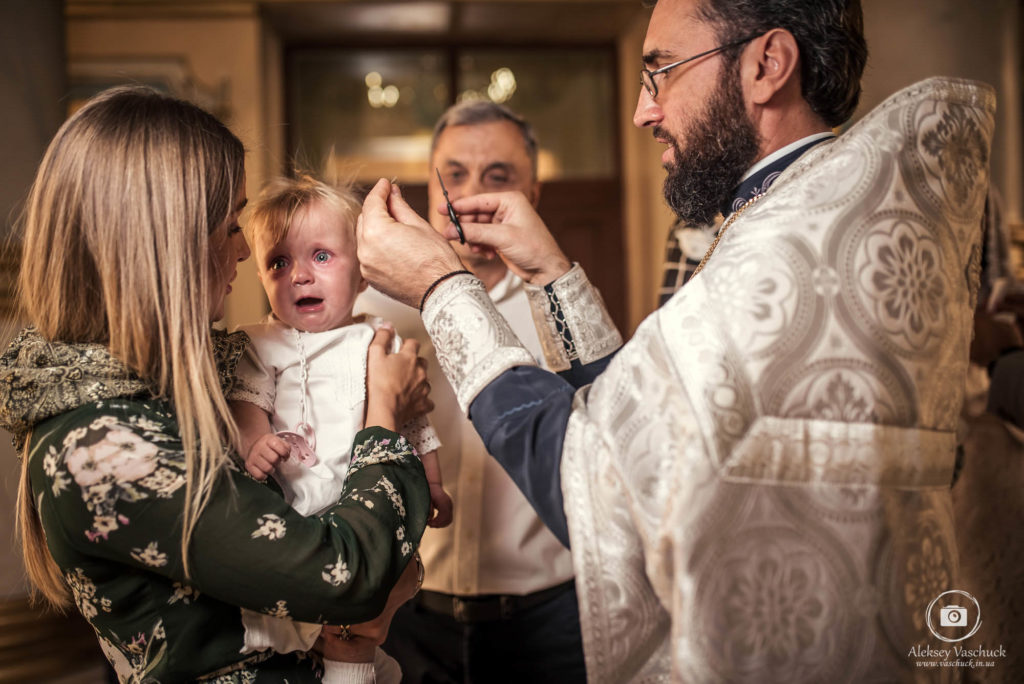 Крестины в Храме Рождества Христова на Оболони