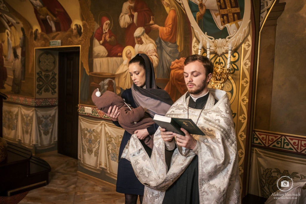 Крестины в Церкви Рождества Христова УПЦ
