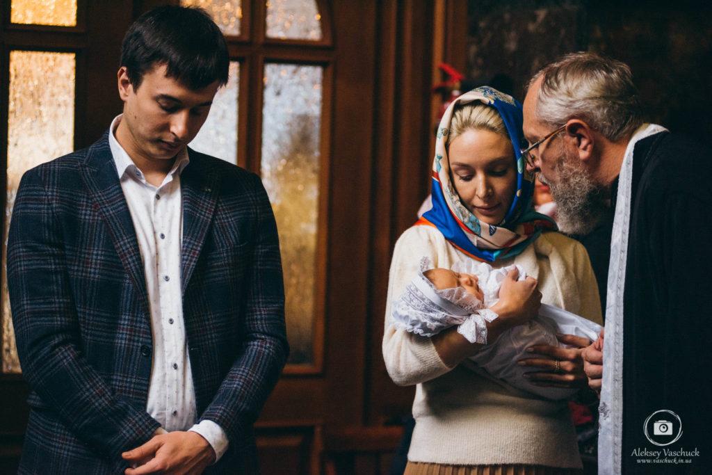 Крещение во Владимирском соборе