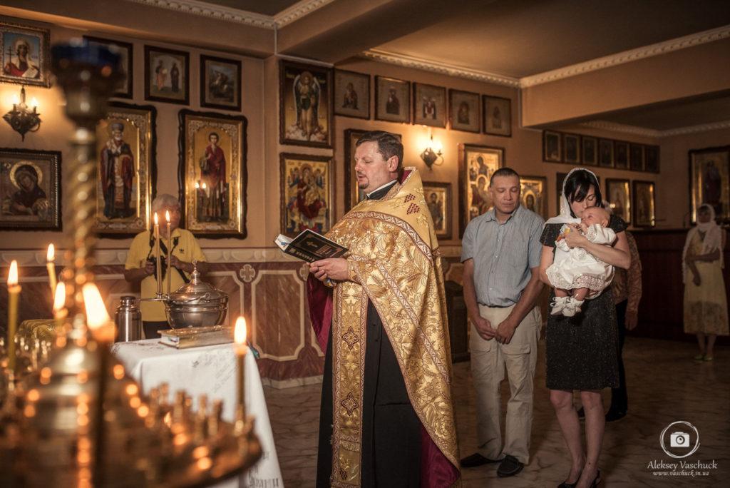 Крещение в Храме Святого Иоанна Предтечи