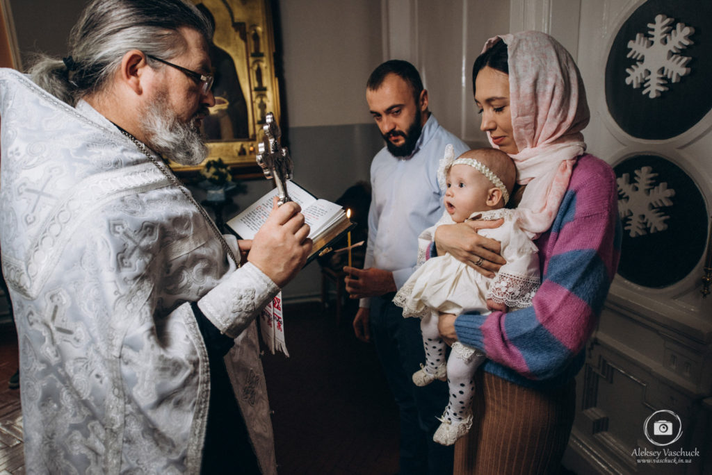 Крещение в Никольском Соборе Киева