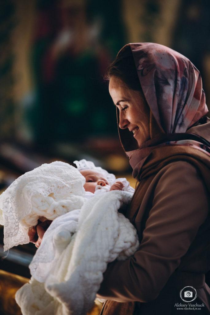 Крещение в Храме Рождества Пресвятой Богородицы