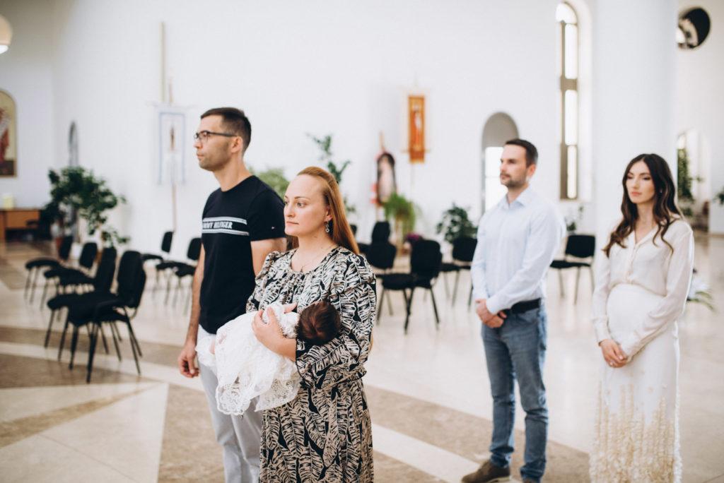 Фотосессия обряда крещения в Патриарший Паломницкий Центр УГКЦ