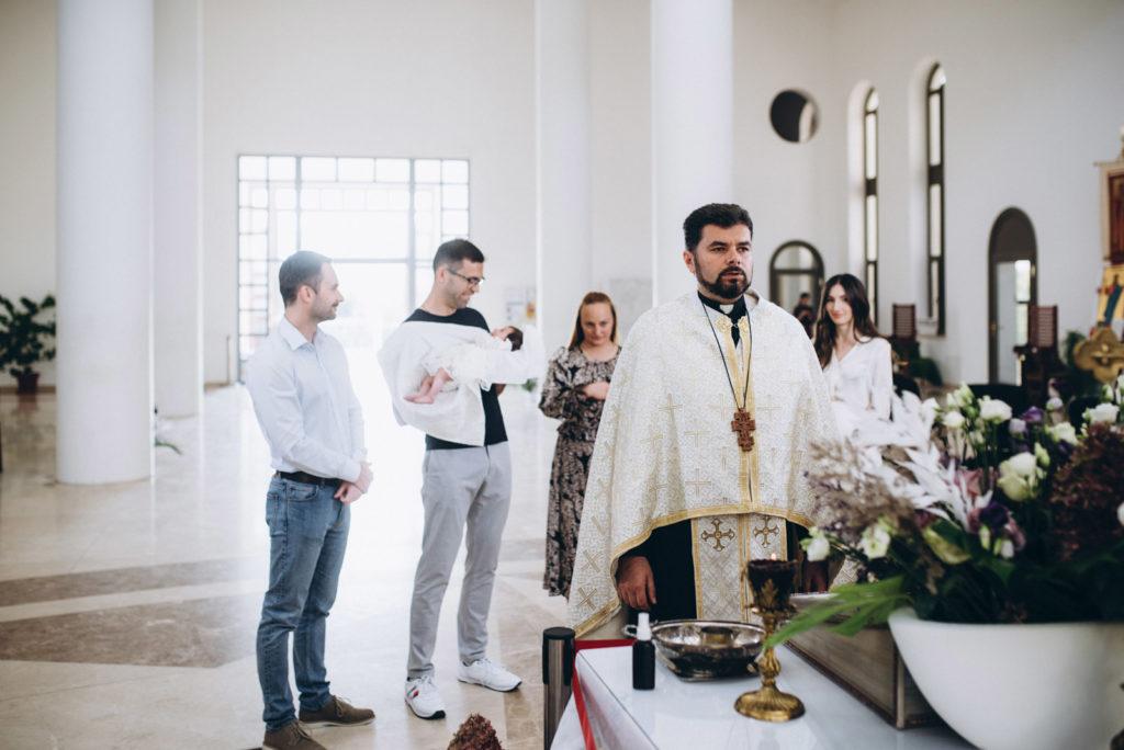 Фотосессия крещения в Патриарший Паломницкий Центр УГКЦ