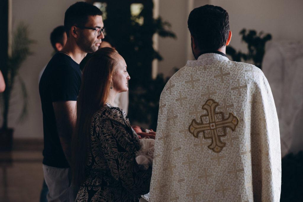 Съемка крещения в Патриарший Паломницкий Центр УГКЦ